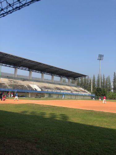 タイ代表と野球対決