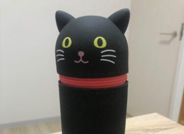 黒猫筆箱に筆記用具以上の愛情が湧いてきた件